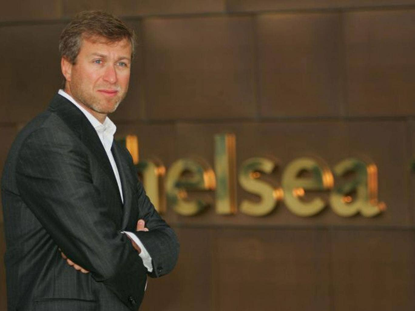 Bull's-eye: Roman Abramovich hits his target while archery misses out