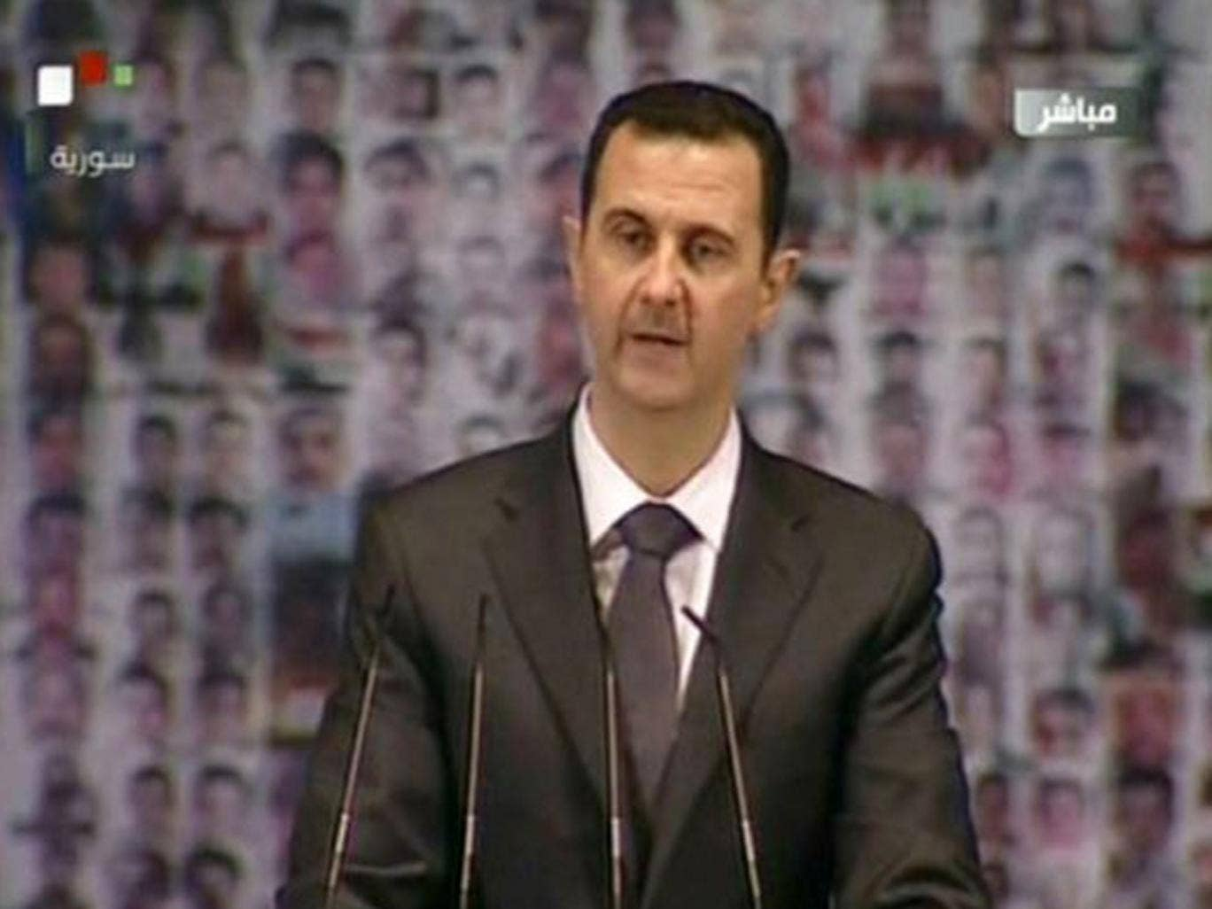 Bashar al-Assad: 'arsonist' Britain cannot be a firefighter in Syria