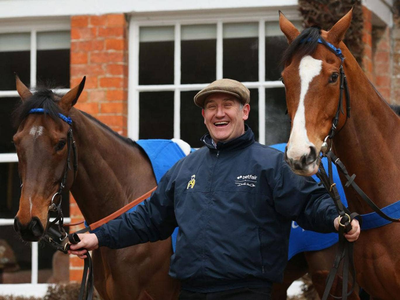 Donald McCain was pleased with Ballabriggs' Aintree prep run