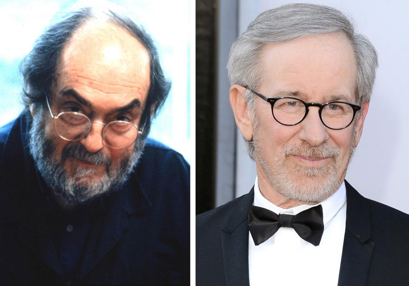 Stanley Kubrick and Steven Spielberg