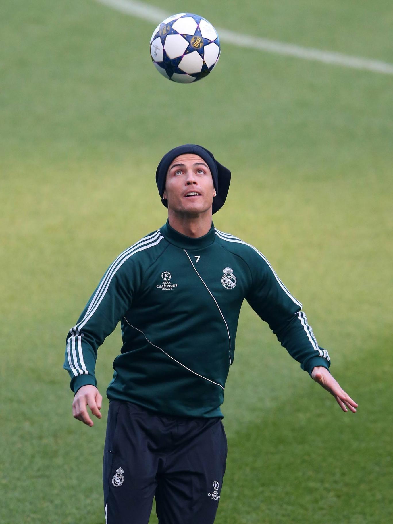 Cristiano Ronaldo at the Etihad Stadium