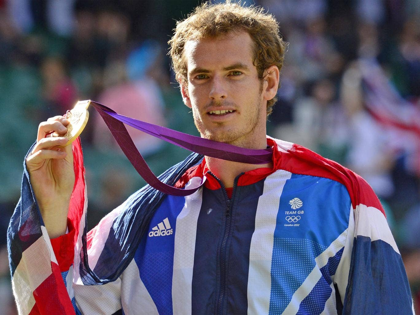 Murray won Olympic gold (pictured) and the US Open last year