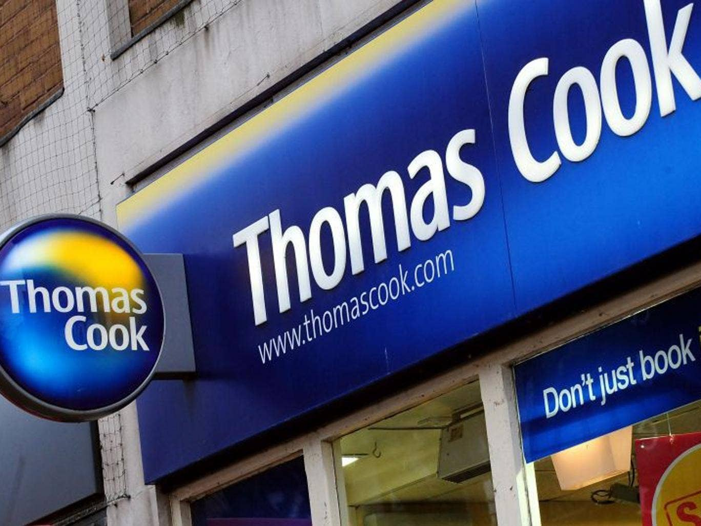 Thomas Cook announced plans to axe 2,500 UK jobs