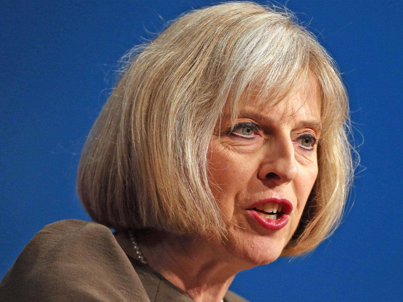 Theresa May is said to be veering further to the right in a bid to win more support