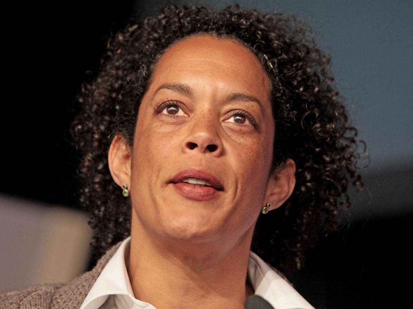 Aminatta Forna says she sometimes feels safer in the Congo than UK