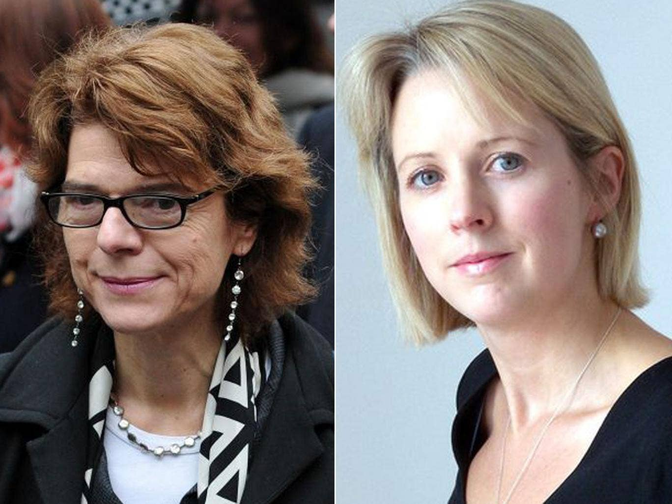 Vicky Pryce and Isabel Oakeshott