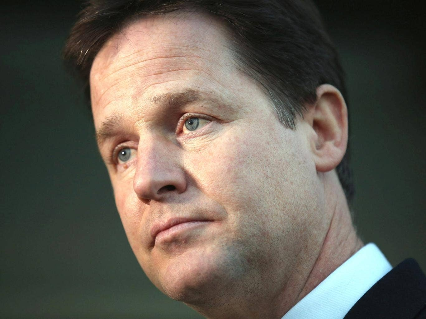Liberal Democrat leader Nick Clegg