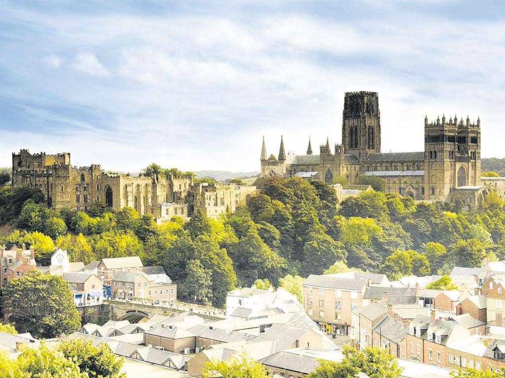 Durham Cathedral and Castle, a Unesco World Heritage site
