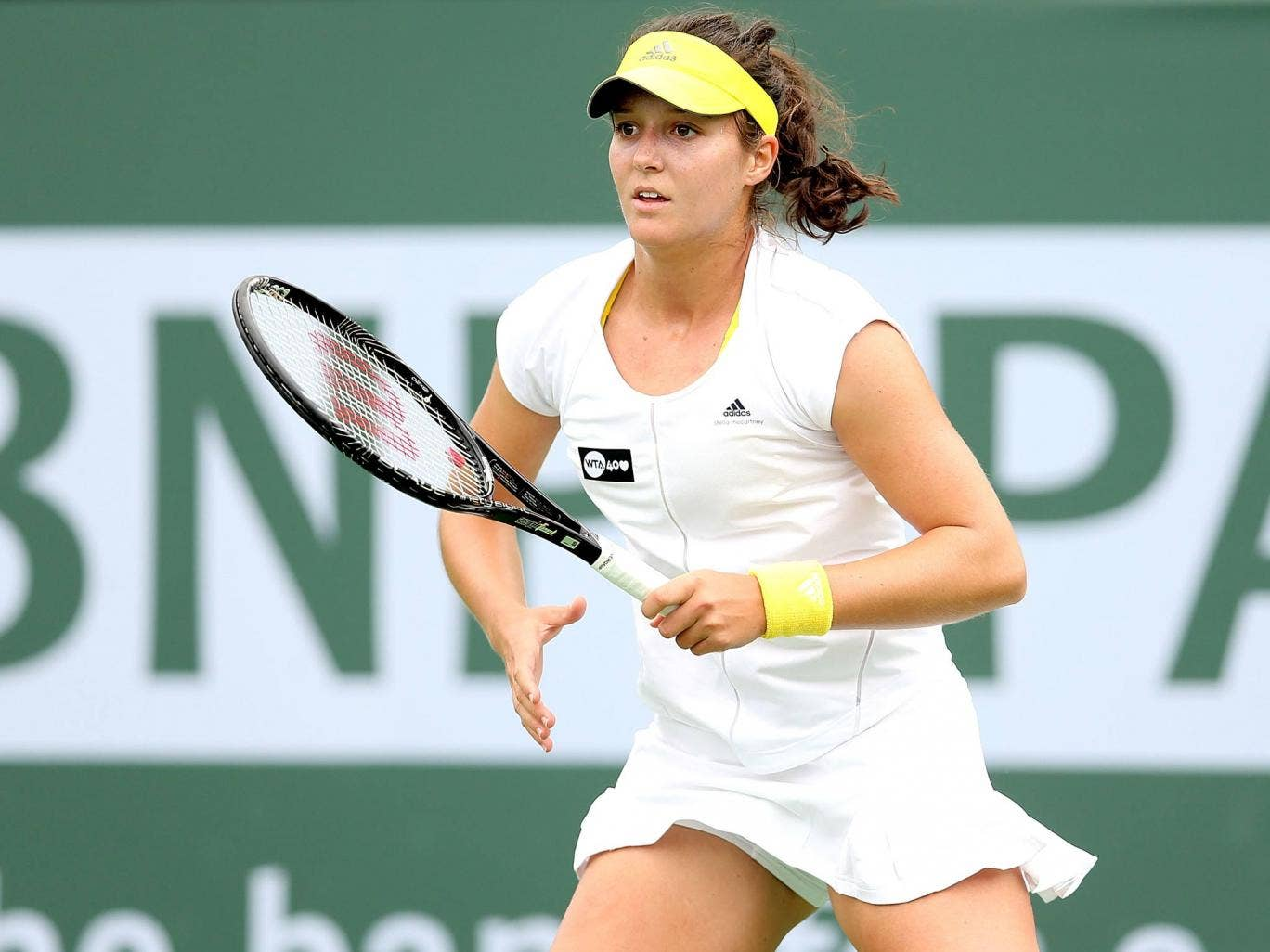 Laura Robson at Indian Wells