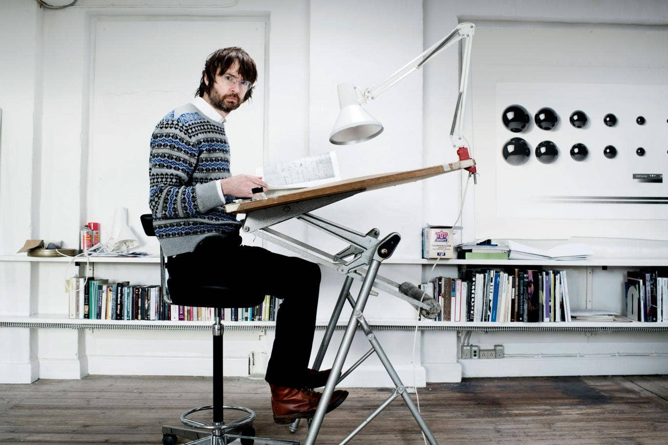 The light stuff: Simon Starling in his studio in Copenhagen