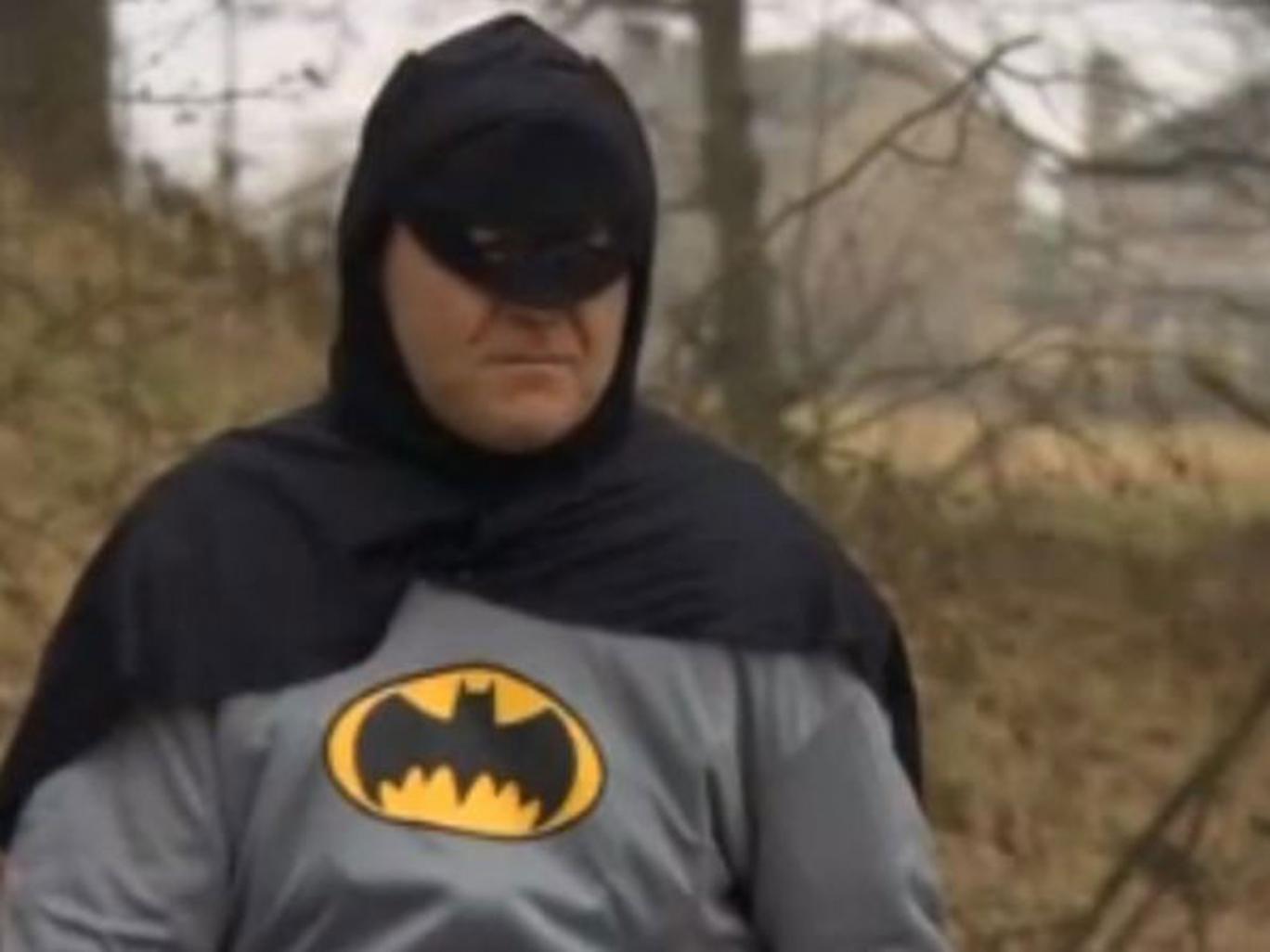 The Bradford Batman, unmasked this week