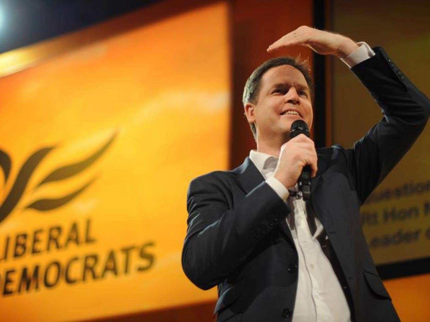 Nick Clegg: 'We are not a party of protest. We are a party of change'