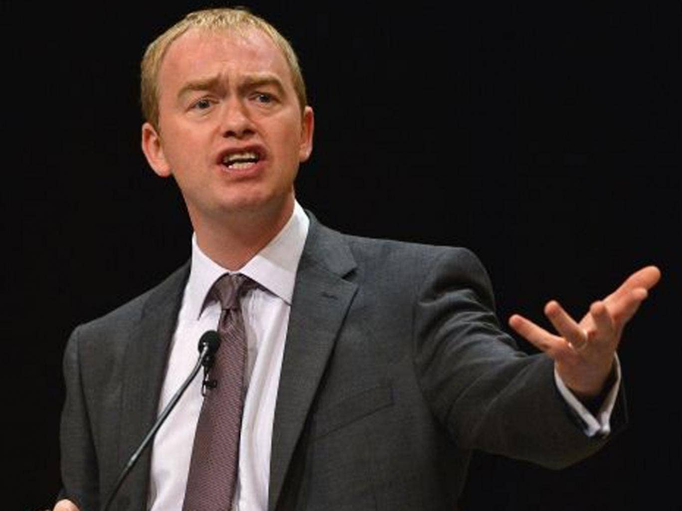 Tim Farron, Lib Dem MP for Westmorland and Lonsdale