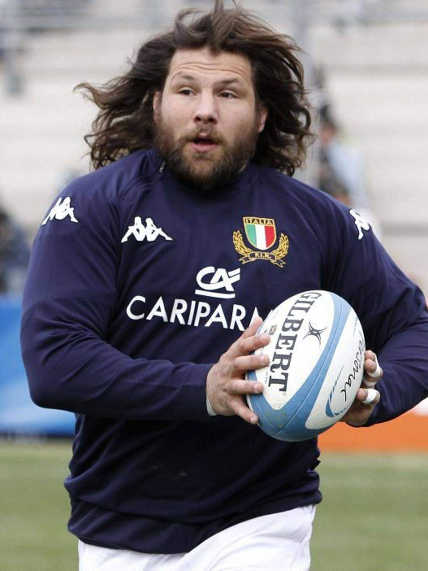 """""""In a nation of aesthetes Castro the behemoth has his picture taken more often than Sergio Parisse the god"""""""