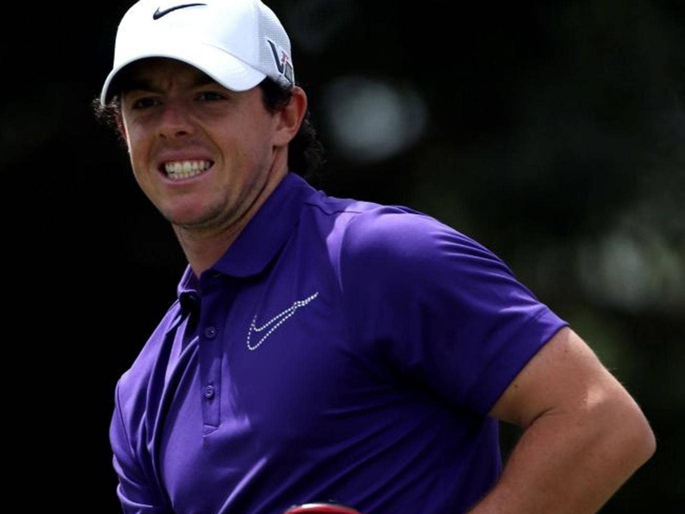Rory McIlroy was smiling again yesterday after hitting a seven under par final round in Doral