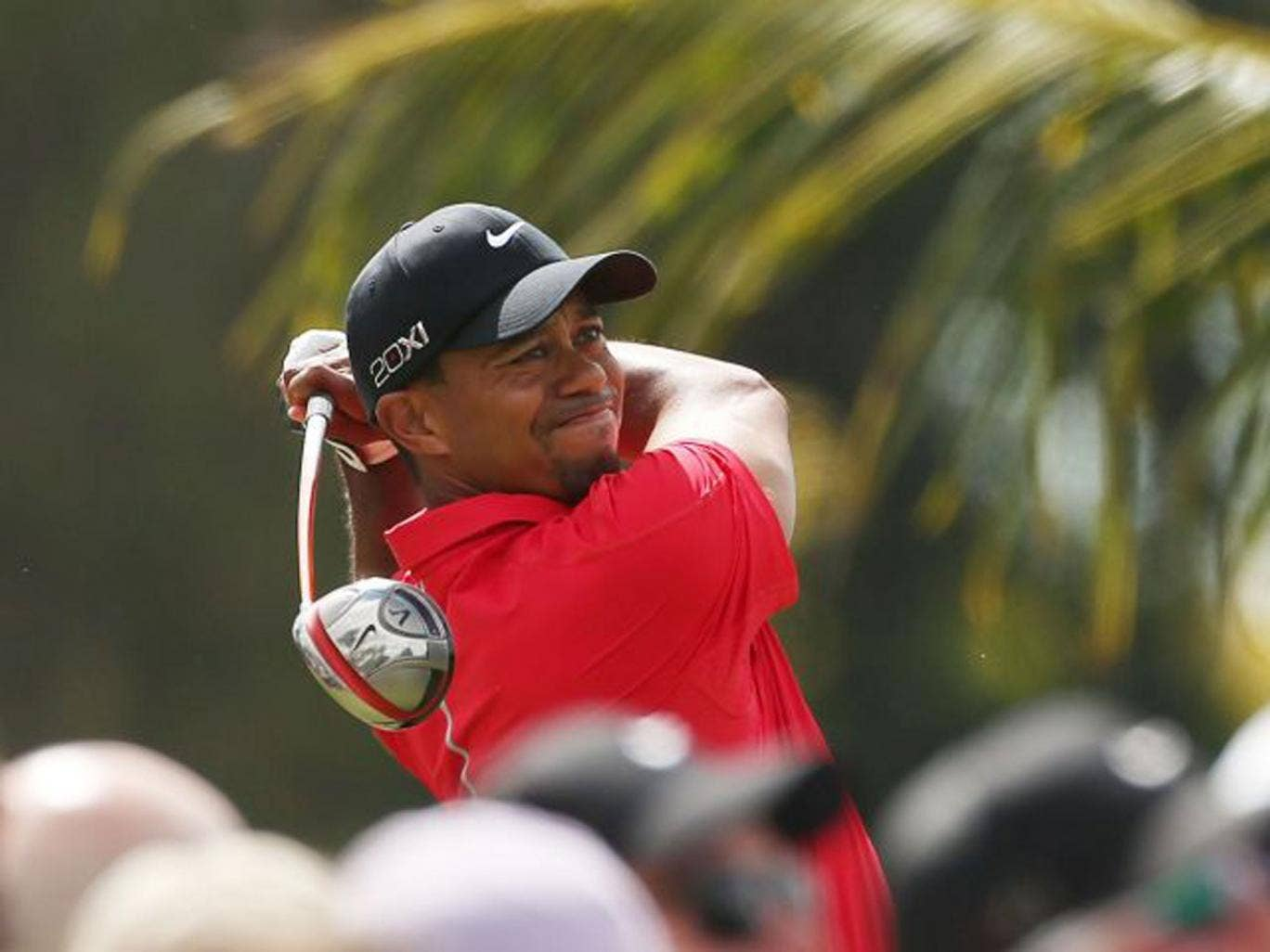 Tiger Woods dominated from start to finish in Miami