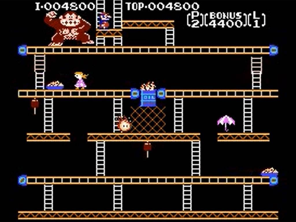 Women were made to look helpless in Donkey Kong