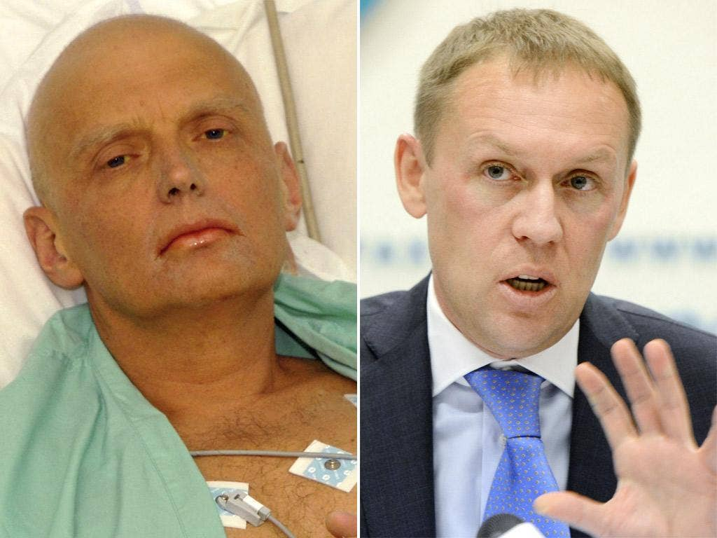 Alexander Litvinenko; Andrei Lugovoy said he would take no further steps to clear his name