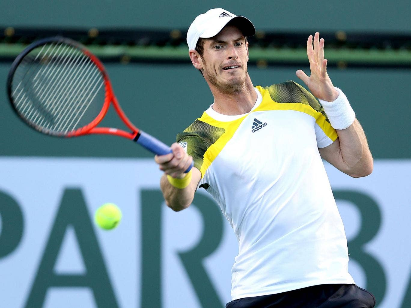 Andy Murray is through to the quarter-finals of the BNP Paribas Open