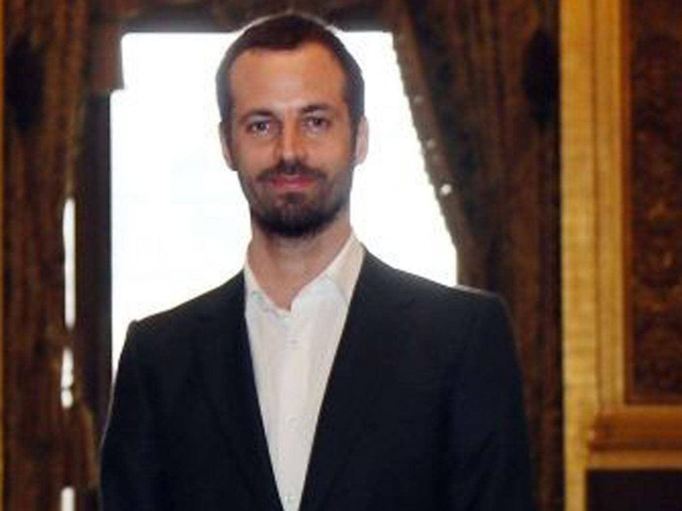 French choreographer, Benjamin Millepied