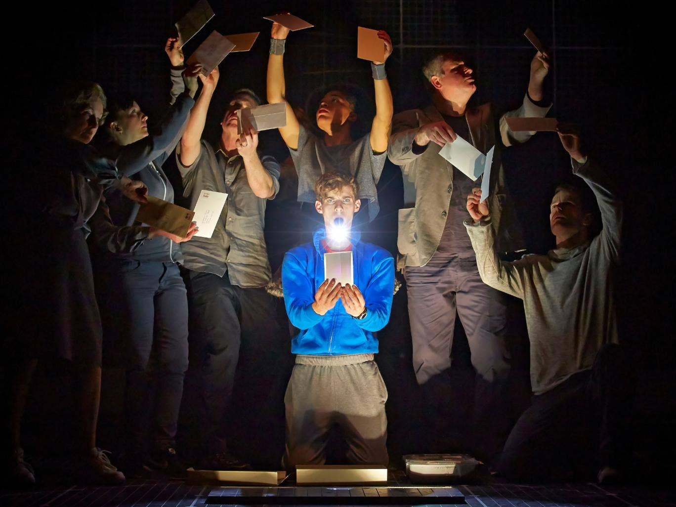 The Curious Incident of the Dog in the Night-Time, Apollo Theatre, London