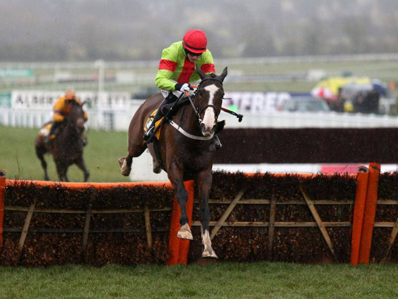 Our Conor won the Triumph Hurdle by a stunning 15 lengths