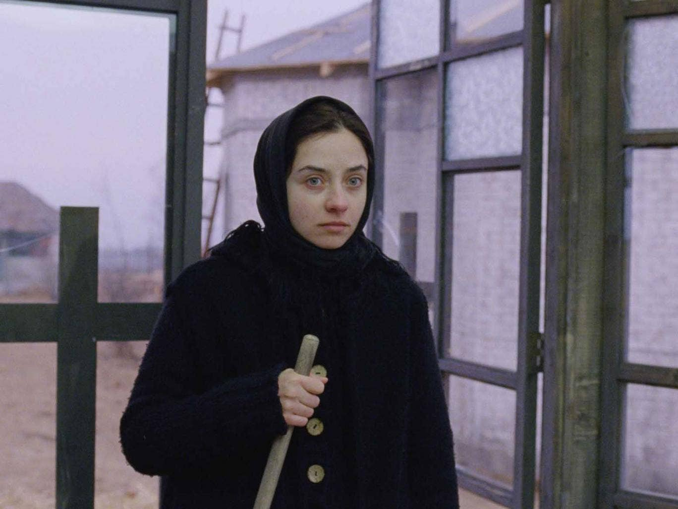 The grim truth: Cosmina Stratan in Beyond the Hills; Mungiu's film is based on real events in Romania in 2005