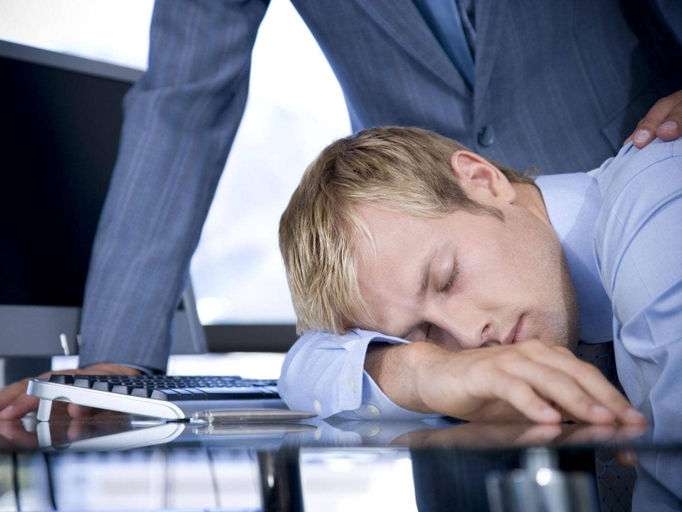 People who sleep the whole night through are more productive during the day