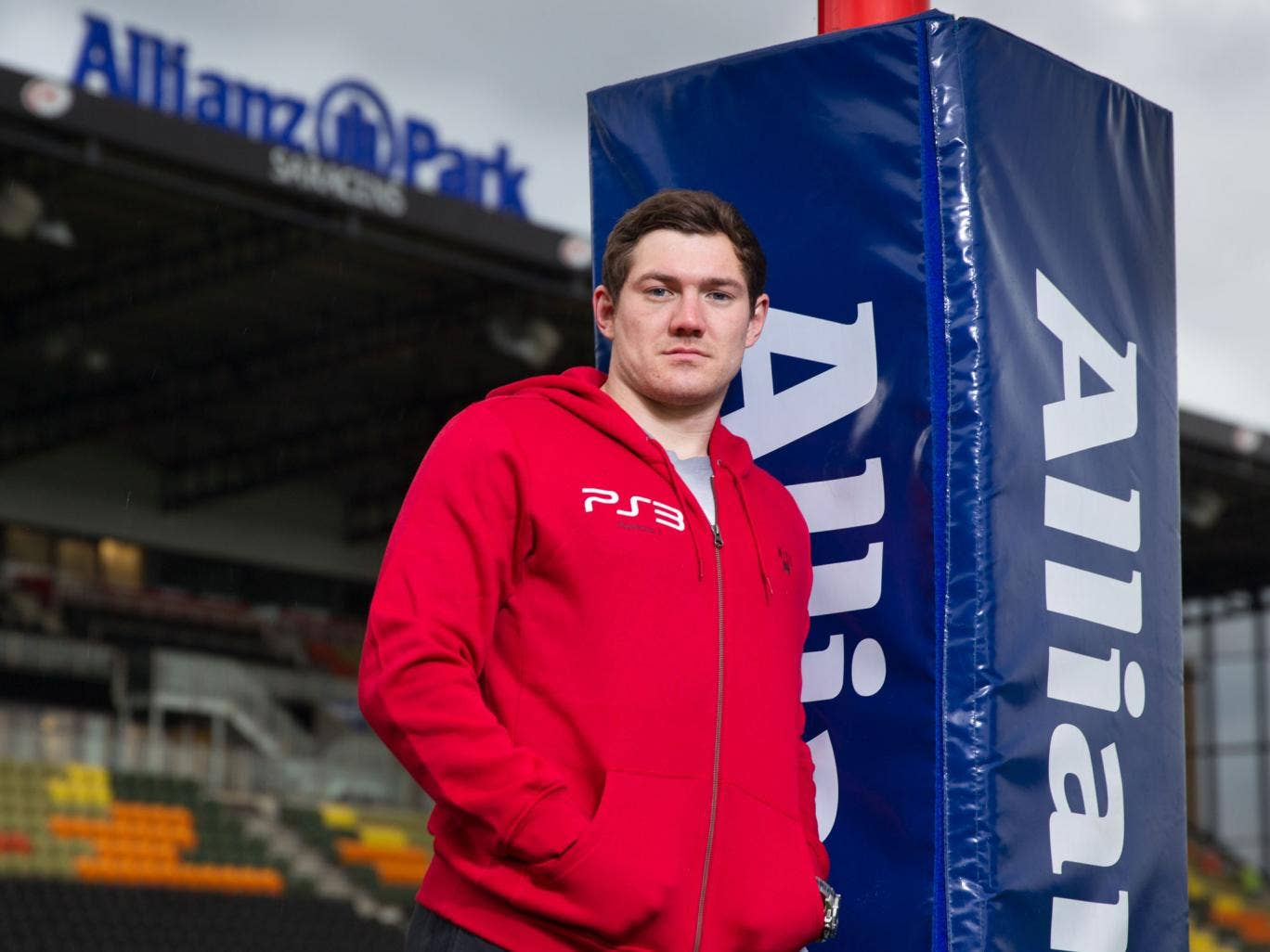 Alex Goode - the England full-back is determined to use the defeat in Cardiff as a positive