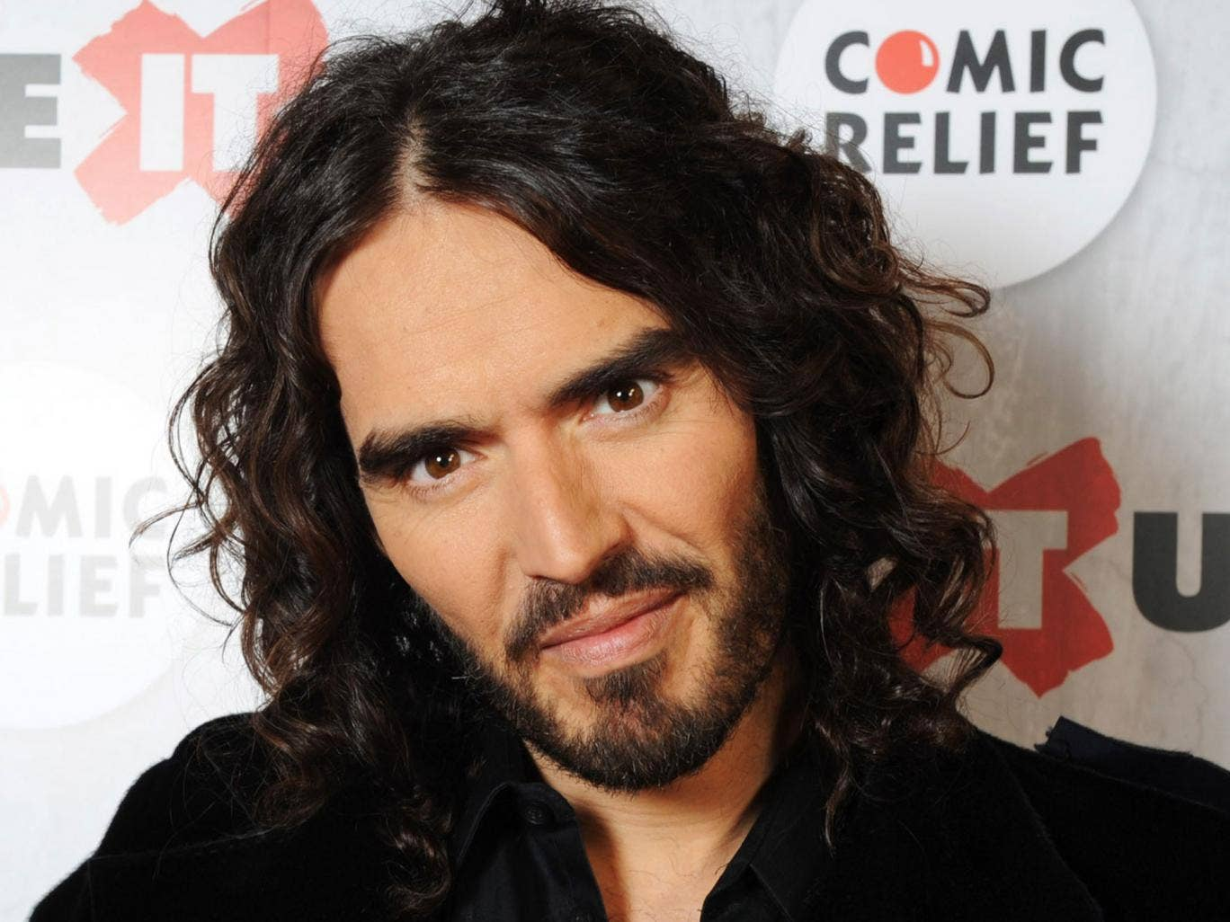 Something in the hair: Russell Brand