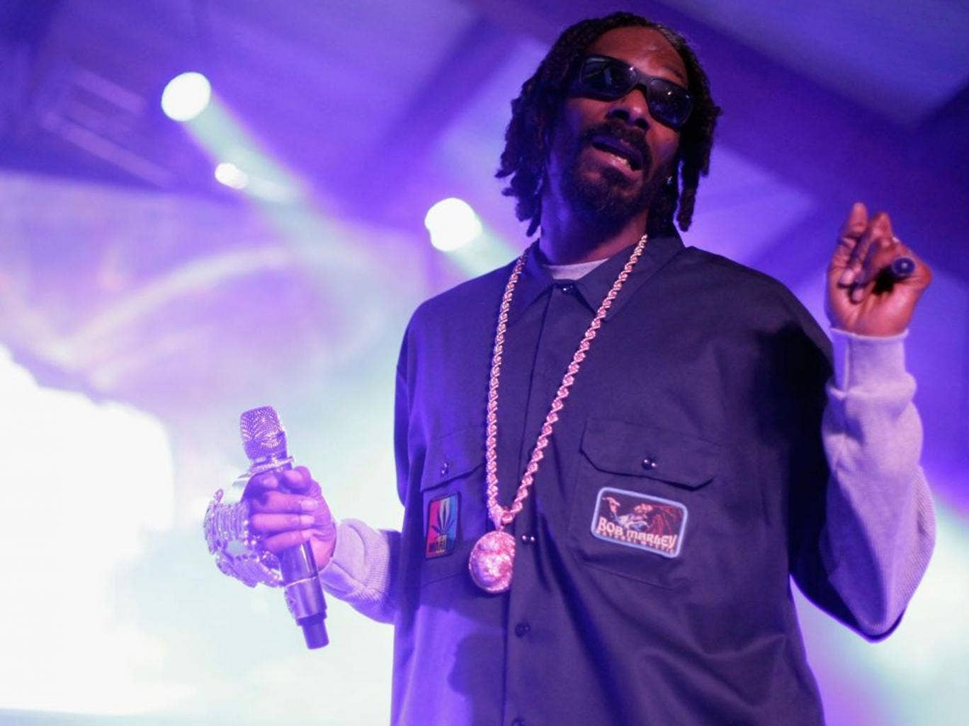 Snoop Dogg performs at this year's SXSW Festival