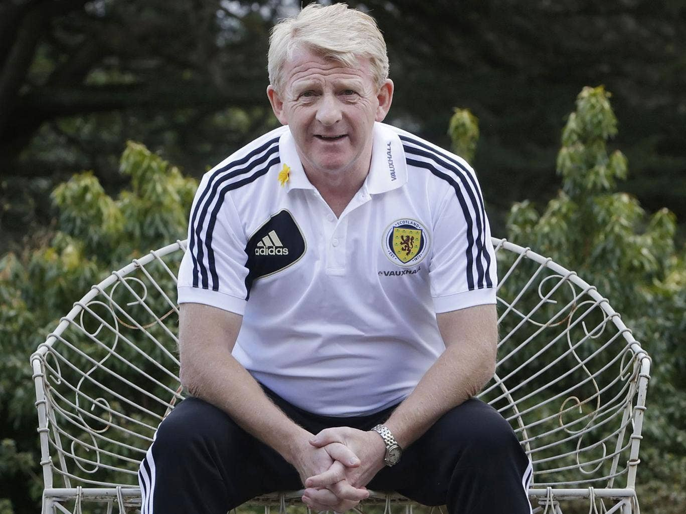 Gordon Strachan faces his first competitive game as manager