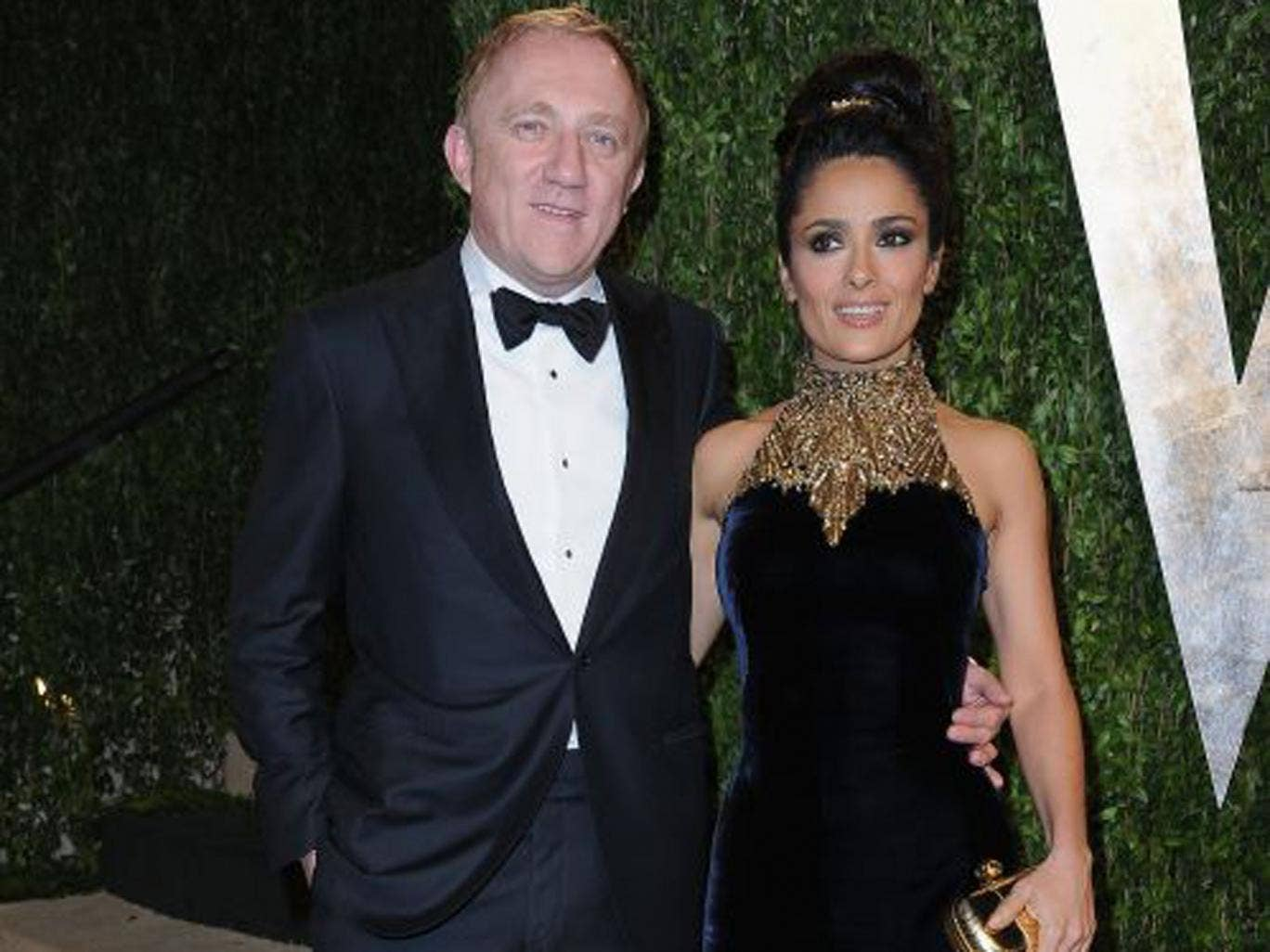 On the arm of his film star wife, Salma Hayek, at least François-Henri Pinault gets recognised in Hollywood and business circles