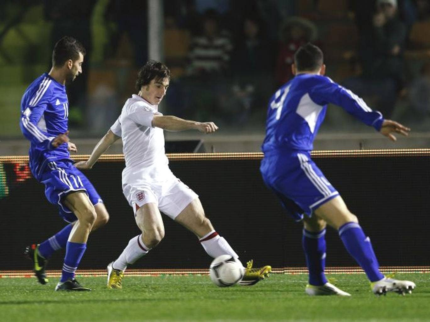 Leighton Baines set up three of the goals in last night's canter
