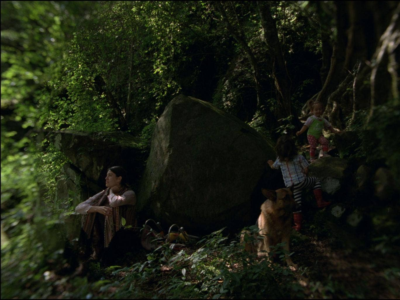 Green thoughts: Nathalia Acevedo as Natalia in Carlos Reygadas's Post Tenebras Lux