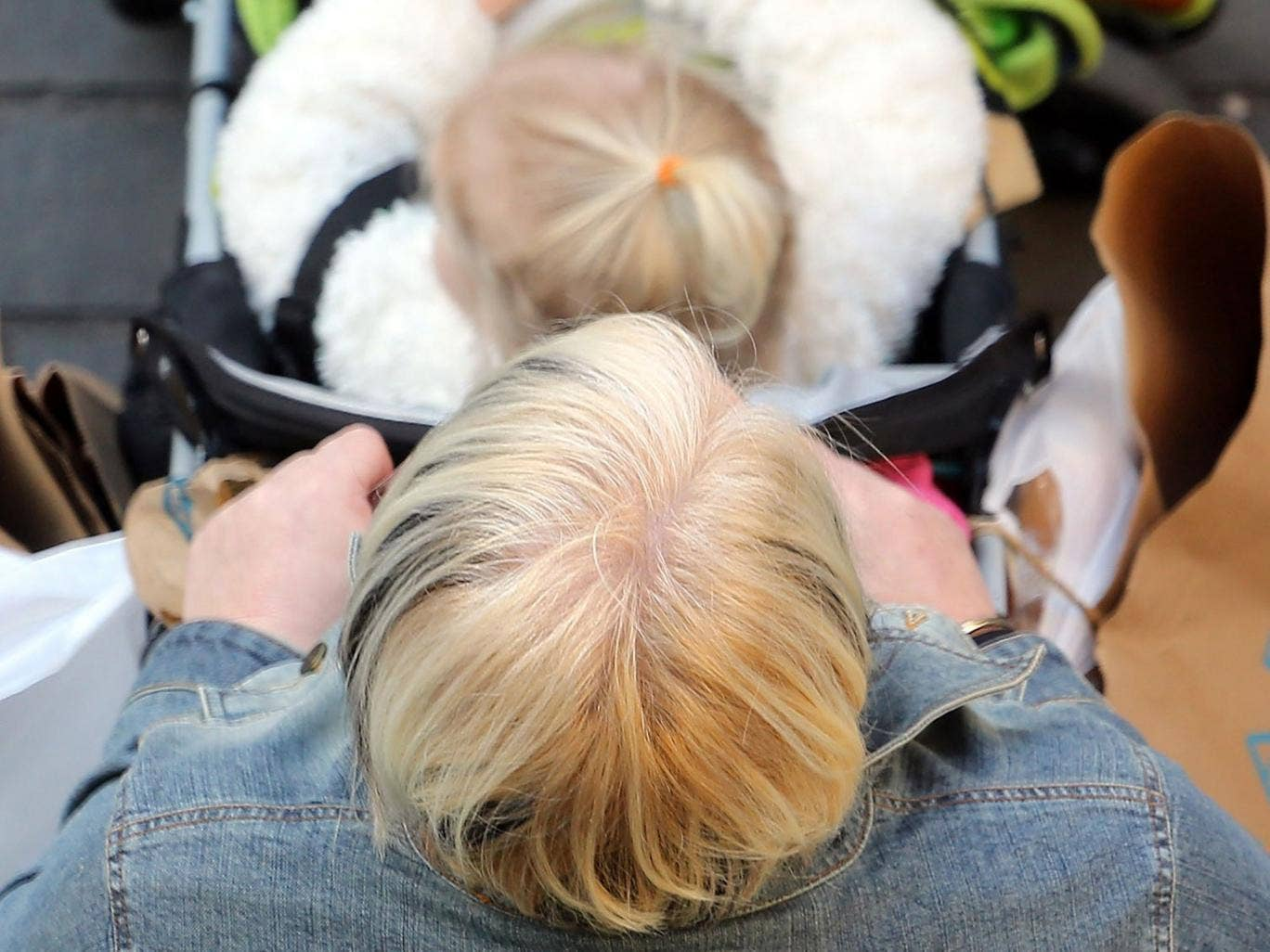 Pushy: mothers who are penalised by cuts are applying pressure