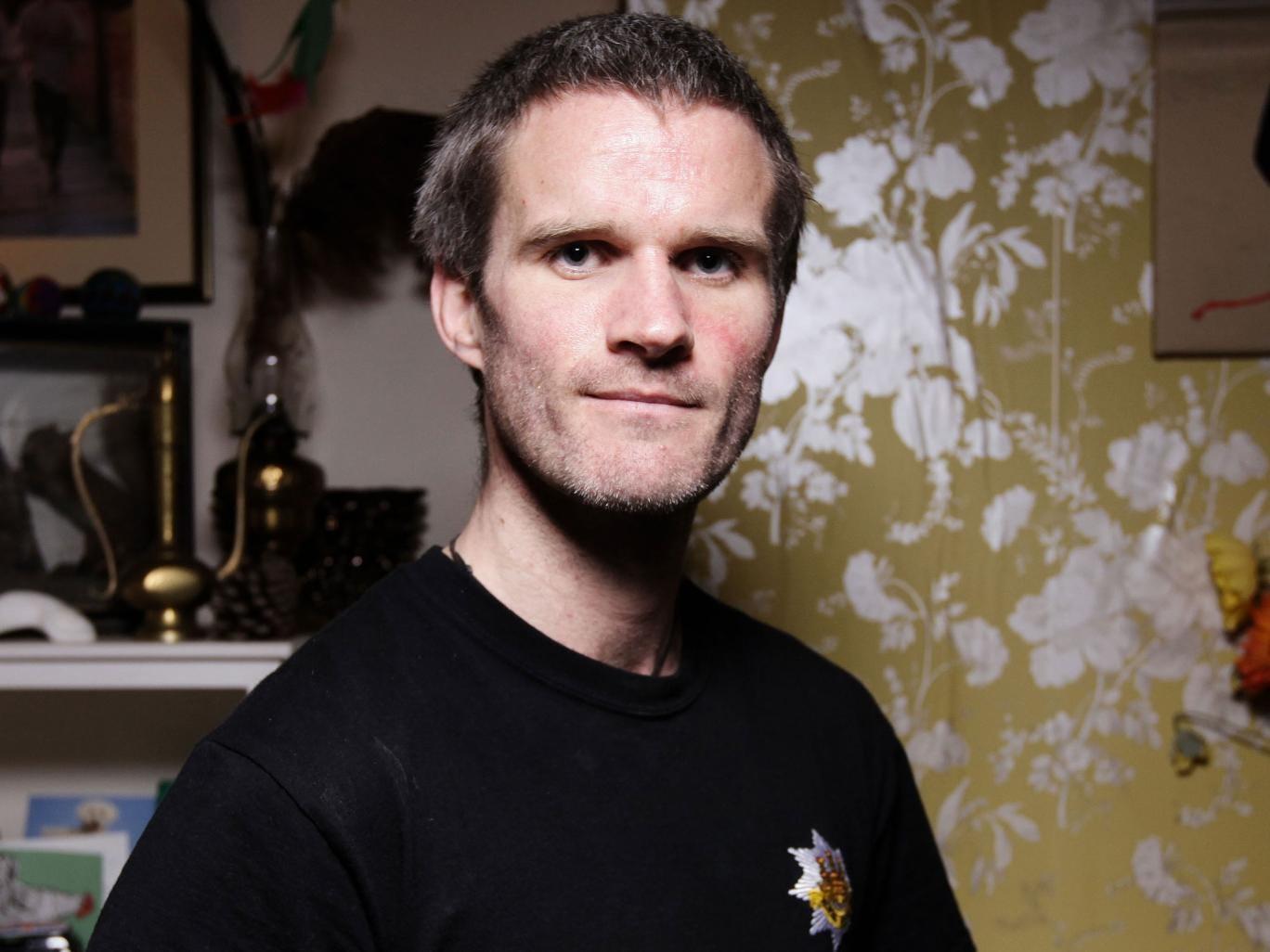 Simon Richardson had drug-resistant TB