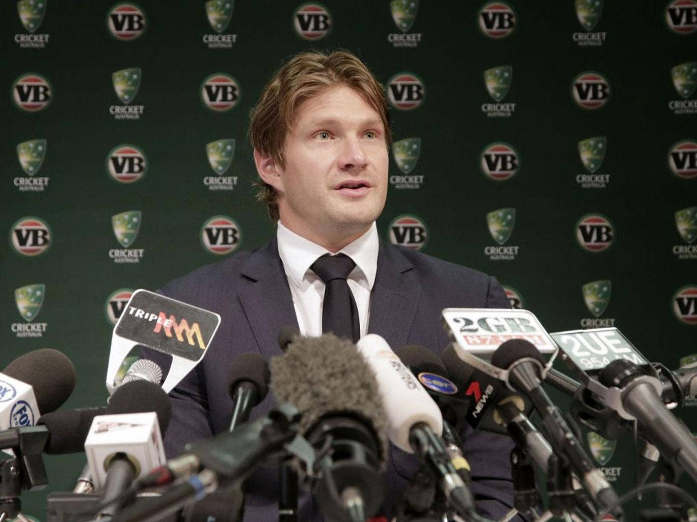 Shane Watson took over the captaincy from Michael Clarke but couldn't stop his side's decline