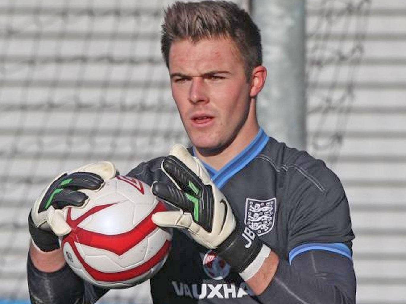 Jack Butland: Will line up for England Under-21s against Austria at the Amex Stadium tonight
