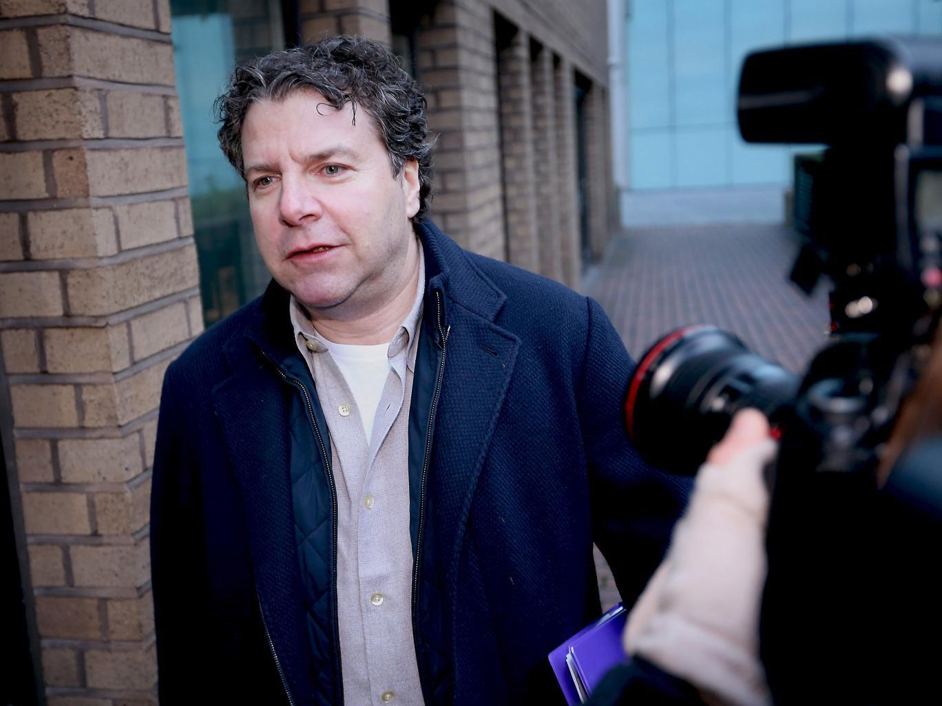 5 November 2012: Nicholas Levene before he was sentenced for a £32m fraud