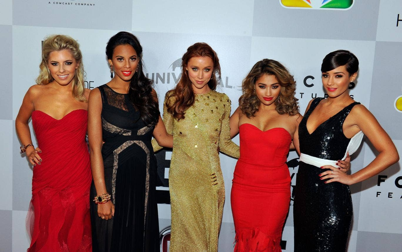 The Saturdays: Mollie King, Rochelle Humes, Una Healy, Vanessa White and Frankie Sandford