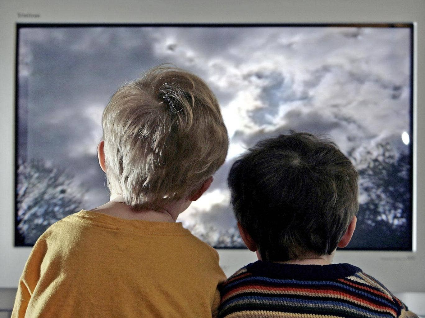 Five-year-olds who view three hours or more a day are at no greater risk of emotional problems