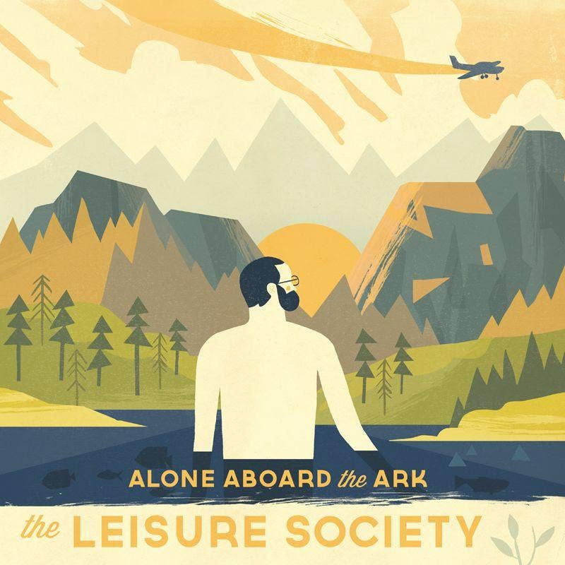 The Leisure Society's new album Alone Aboard The Ark is out on April 1.