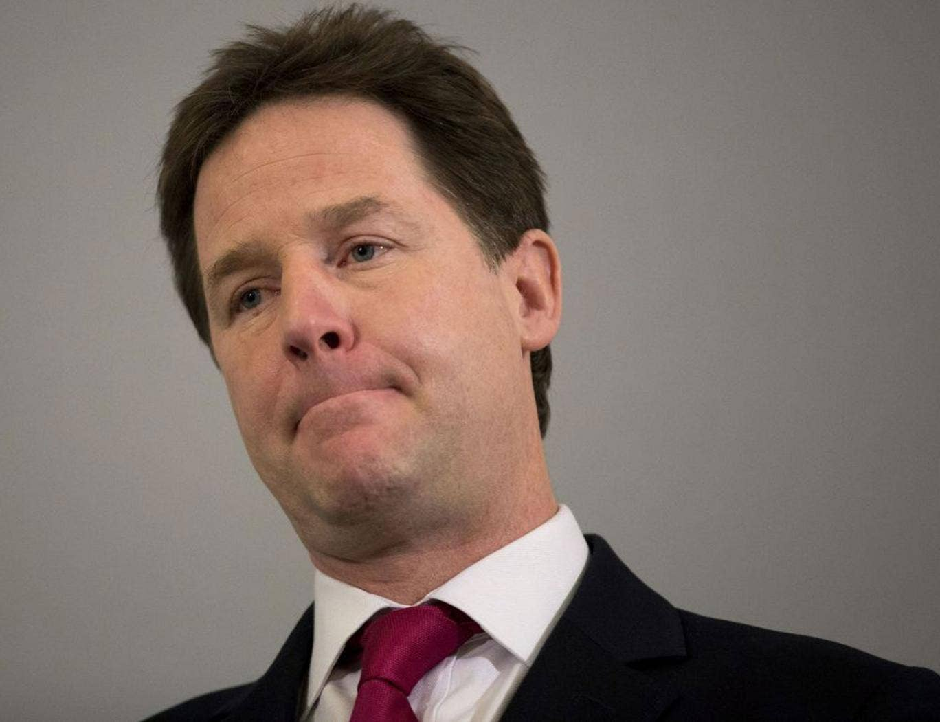 Nick Clegg's ratings amongst Liberal Democrat activists have slumped