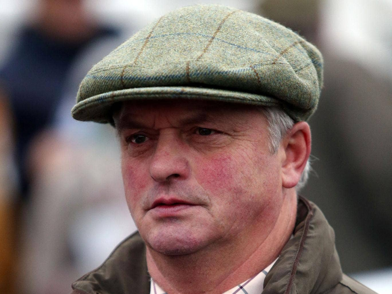 Cue Card's trainer, Colin Tizzard