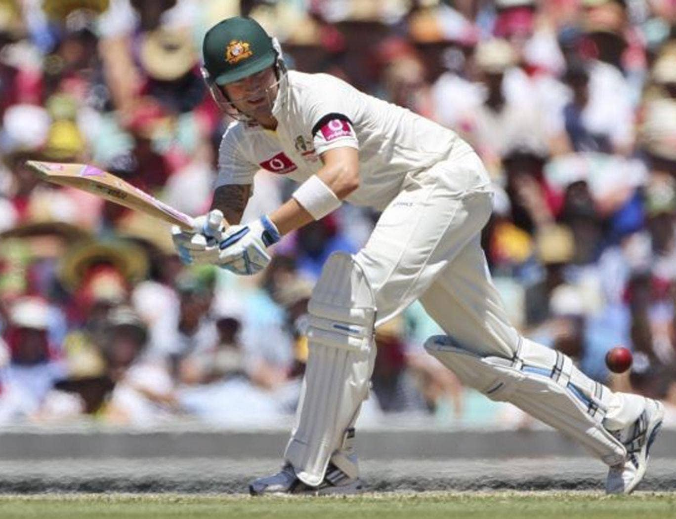 Michael Clarke: The batsman is 'seven to 10 weeks away' from returning to training