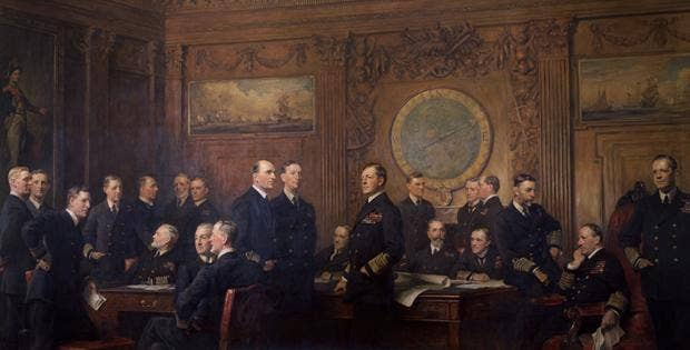 Naval Officers of World War I by Sir Arthur Stockdale Cope: The National Portrait Gallery, London announced a £20,000 appeal to restore this huge portrait that has not been on display at the Gallery since the 1960s. Funds will be raised through the Galler