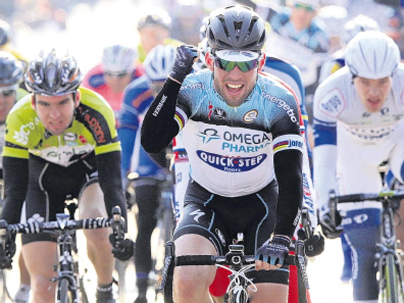 Cavendish bags belgian victory