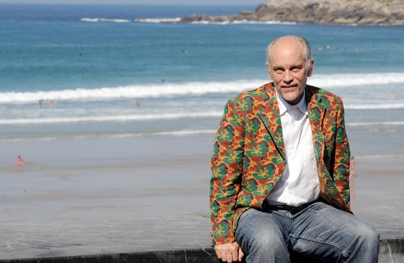 John Malkovich has released a line of gentlemen's beachwear