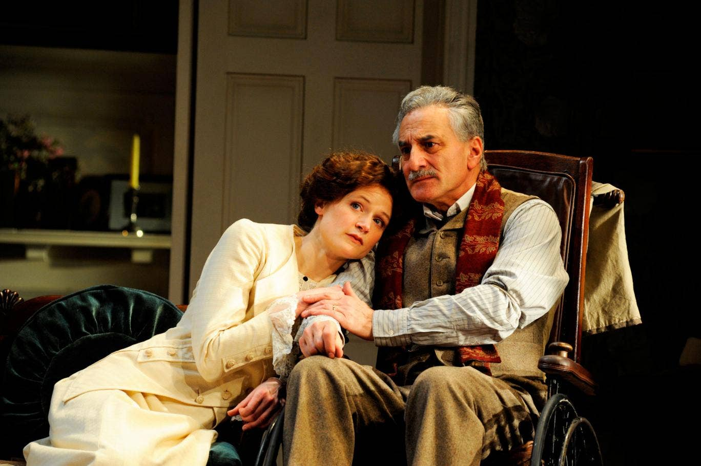 Naomi Frederick and Henry Goodman star in The Winslow Boy